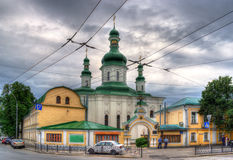Church of Theodosius of Kiev - Ukraine Royalty Free Stock Image