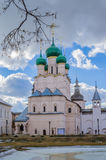 Church иоана the theologian in the Rostov Kremlin Stock Photos