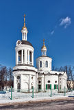 Church of the Theotokos icon of Blachernae in Kuzminki, Moscow, Stock Photos