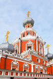 Church of the Theotokos icon of the Sign in the Sheremetev Yard (1691) Royalty Free Stock Photography