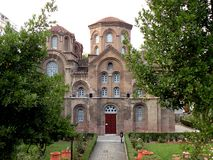 Church in Thessaloniki. Thessaloniki harbour in northern Greece. Historical region of Greece, known in antiquity. Nice image. Wonderful view stock photos