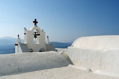 Church in Thira. Royalty Free Stock Images