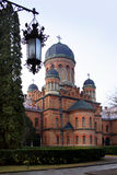 Church of the Three Hierarchs in Chernivtsi National University (Ukraine) Stock Images