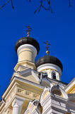 Church of Three Prelates. In Simferopol (Crimea Royalty Free Stock Photo
