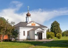 The Church of the Three Saints on the Nerl. Vladimir. Russia royalty free stock image