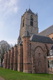 Church of Tiel. Reformed Church of Tiel, The Netherlands Royalty Free Stock Image