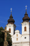 The church of Tihany(Hungary) Stock Images