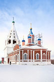 Church of Tikhvinй Icon of Divine Mother is in city Kolomna Royalty Free Stock Photography