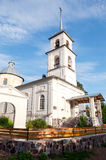 Church of the Tikhvin Icon of the Mother of God in village Royalty Free Stock Photos