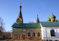 Church of the Tikhvin icon of the Mother of God. Royalty Free Stock Photography