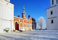 Church of the Tikhvin Icon of Our Lady in Kolomna Stock Images