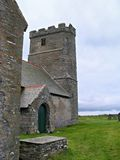 Church in Tintagel Stock Image