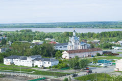 Church in Tobolsk town Royalty Free Stock Photos