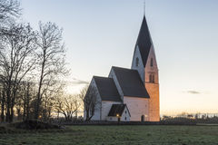 Church in Tofta, Gotland in Sweden Stock Images