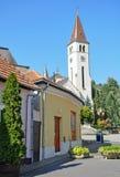 Church in Tokaj city Royalty Free Stock Photography