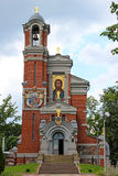 Church-tomb princes Svyatopolk-Mirsky. In Belarus Royalty Free Stock Images