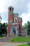 Church-tomb princes Svyatopolk-Mirsky in Belarus Stock Photo