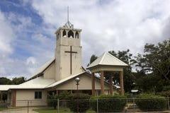 Church in Tonga Stock Image