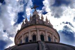 Church top, Xewkija, Gozo, Malta Stock Photo