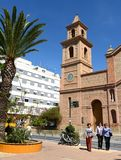 The Church in Torrevieja Stock Photography