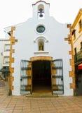 Tossa de Mar old town Vila Vella in Costa Brava of Catalonia masonry stone Royalty Free Stock Images