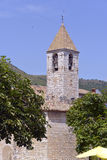 Church of Tourrettes-sur-Loup in France Royalty Free Stock Photography