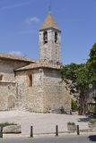 Church of Tourrettes-sur-Loup in France Stock Photo