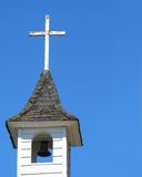 Church tower. Little chapel tower Royalty Free Stock Photos