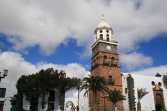 Church tower, Royalty Free Stock Photography