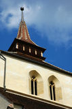 Church tower. Tower of an old gothic church Royalty Free Stock Photos