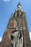 Church tower. Of the Bonifatiuskerk in Leeuwarden(Holland Royalty Free Stock Photography