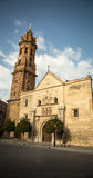 Church and tower in antequera Royalty Free Stock Photos