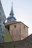 Church tower. Beautiful tower of a church in germany Stock Photo