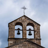 Church tower with bell Royalty Free Stock Photo
