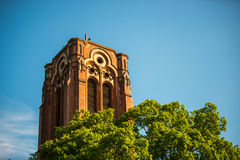 Church tower in Berlin Royalty Free Stock Images