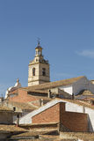 Church tower, Bolbaite, Valencia, Spain Stock Images