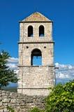 Church tower at bribir fortress, Dalmatia Stock Photography