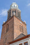 Church tower in the center of Winschoten Royalty Free Stock Photo