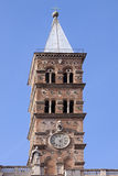 Church tower clock Royalty Free Stock Images