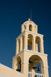 Church tower Crete, Greece Royalty Free Stock Photography