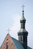 Basilica of St Andrew in Olkusz. (Poland&#x29 Royalty Free Stock Photos