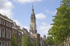 Church Tower of Delft Royalty Free Stock Image