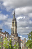 Church Tower of Delft, Holland Stock Photography
