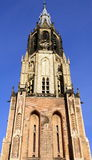Church Tower. Delft Royalty Free Stock Photography
