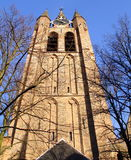 Church tower. Delft Stock Images