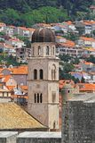 Church tower Dubrovnik Stock Photos