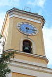 Church Tower in Eze Royalty Free Stock Photo