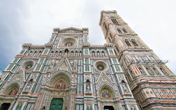 The church with the tower, Florence Stock Image
