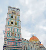 The church with the tower, Florence Stock Images