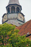 Church tower in güstrow Royalty Free Stock Images